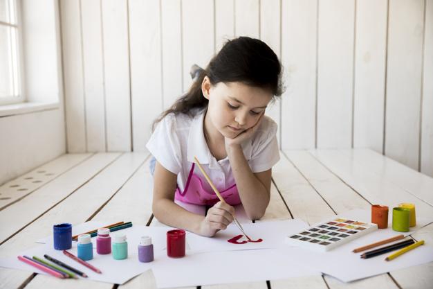 การฝึกสมาธิจากการเรียนศิลปะ